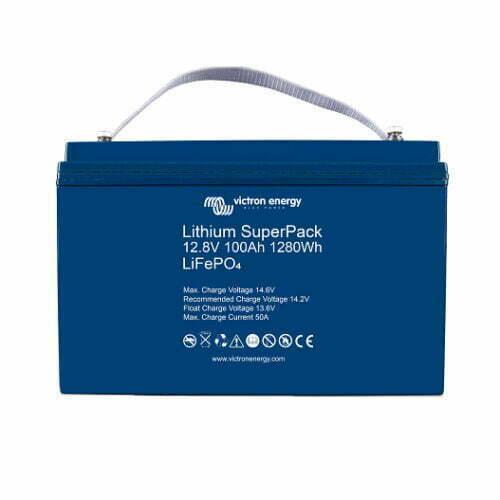 Superpack Litium batterier med integrerad BMS och säkerhetsbrytare
